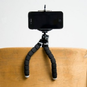 FLEX holder and tripod for iPhone or Droid