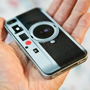iPhone skin as Leica