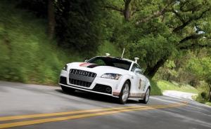 AUDI tt self-driving