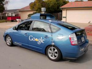 Google ToyotaPrius self driving