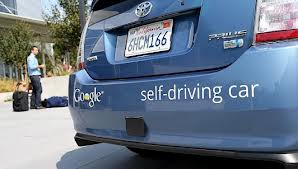 google self driving a Prius