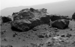 Opportunity Captured this Rock on August 13, 2011