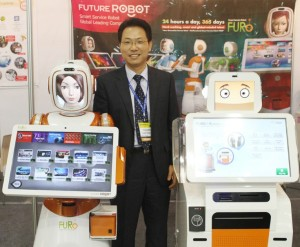 Robot Kiosks in Korea
